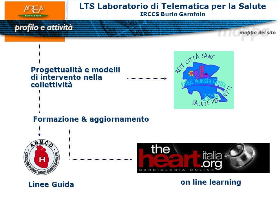 LTS Laboratorio di Telematica per la Salute IRCCS Burlo Garofolo