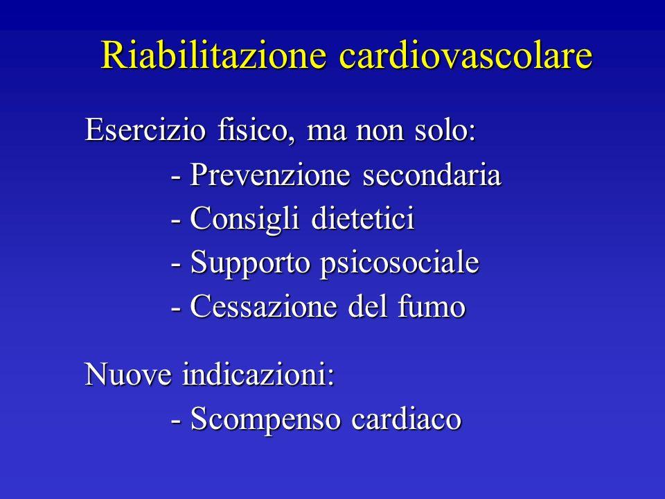 Riabilitazione cardiovascolare