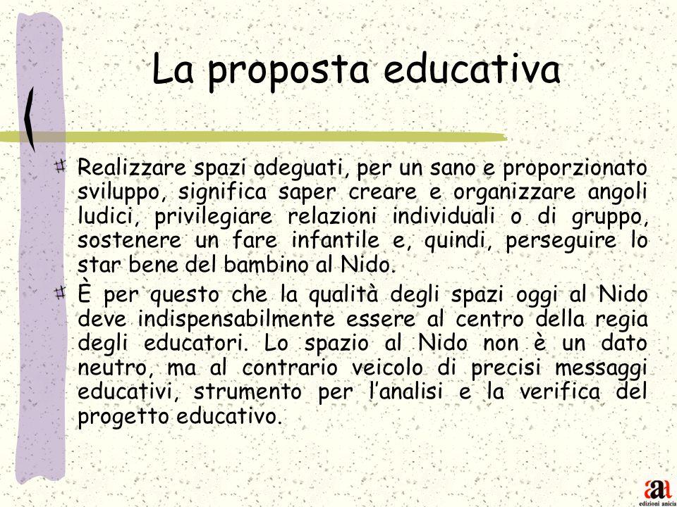 La proposta educativa