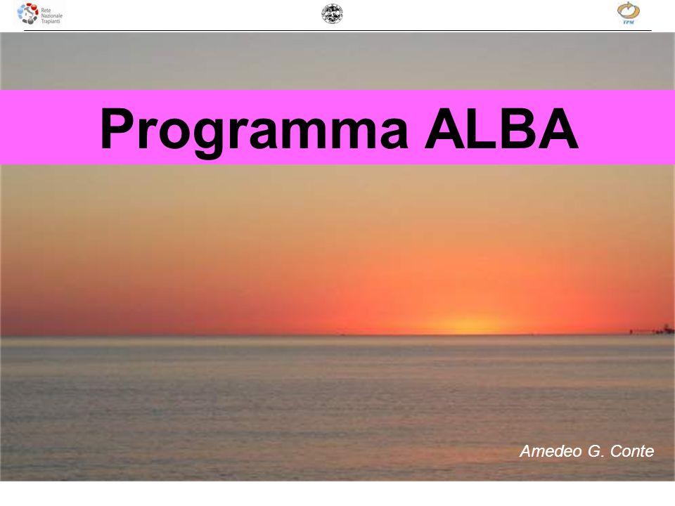 Programma ALBA Amedeo G. Conte