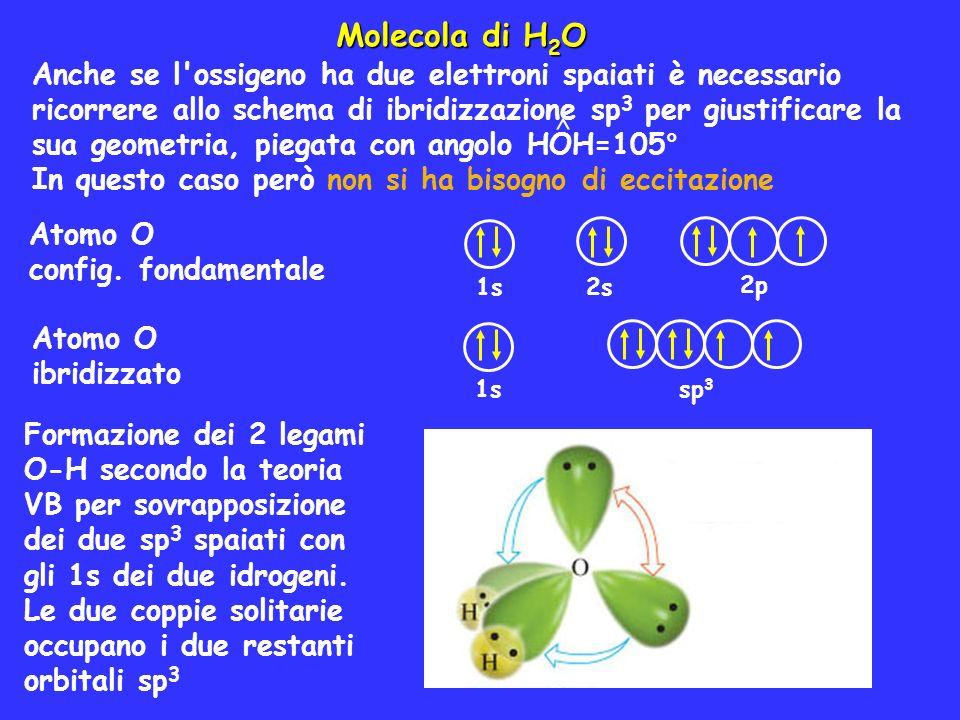 Molecola di H2O