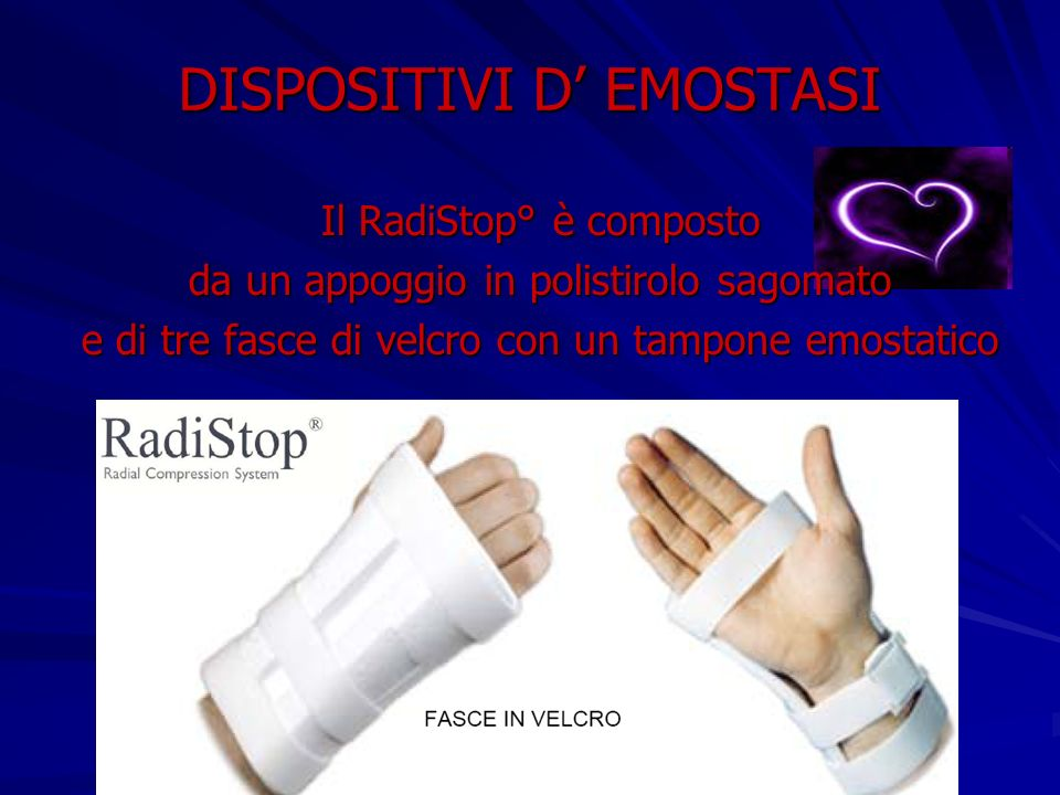 DISPOSITIVI D' EMOSTASI