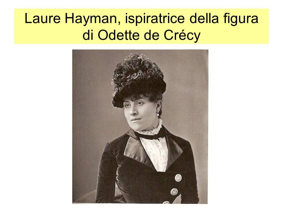 Laure Hayman, ispiratrice della figura di Odette de Crécy