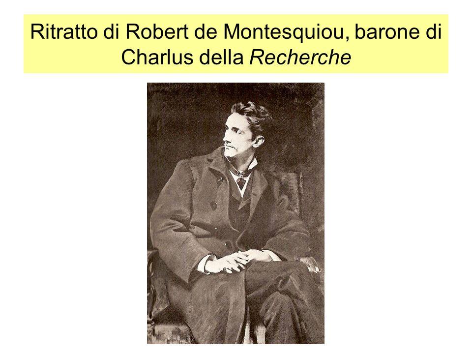 Ritratto di Robert de Montesquiou, barone di Charlus della Recherche