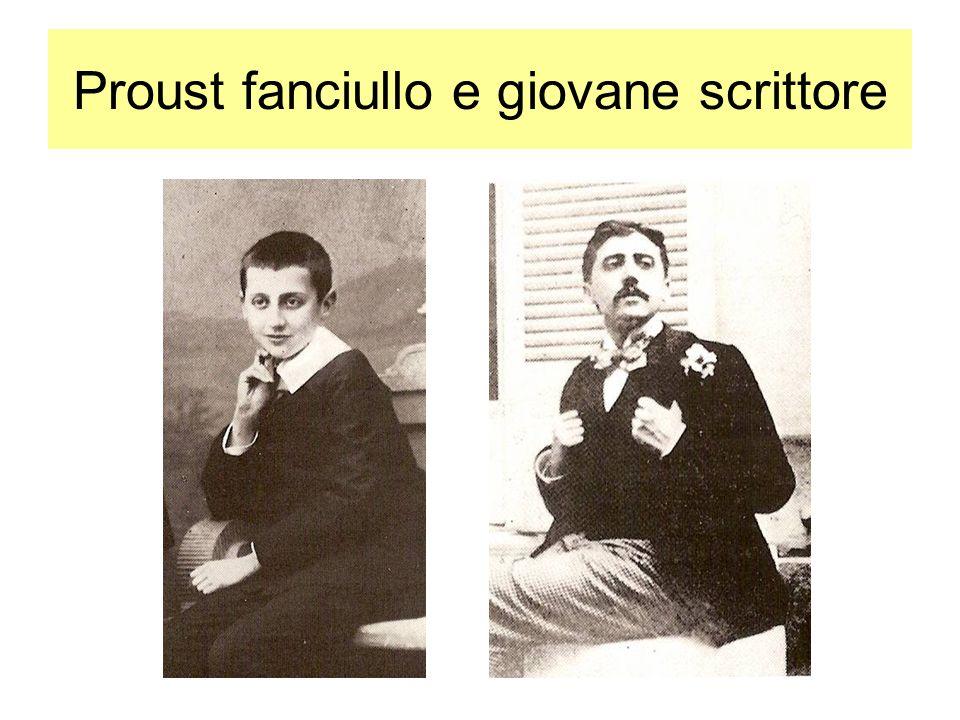 Proust fanciullo e giovane scrittore