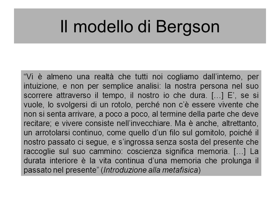 Il modello di Bergson