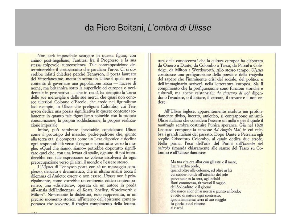 da Piero Boitani, L'ombra di Ulisse