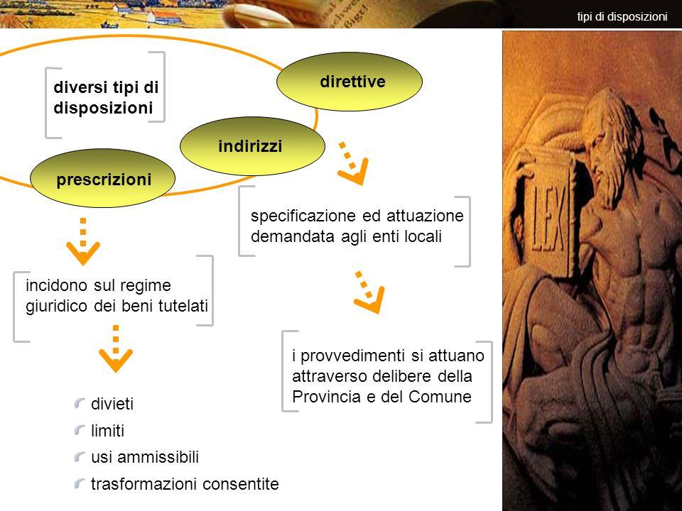 specificazione ed attuazione demandata agli enti locali