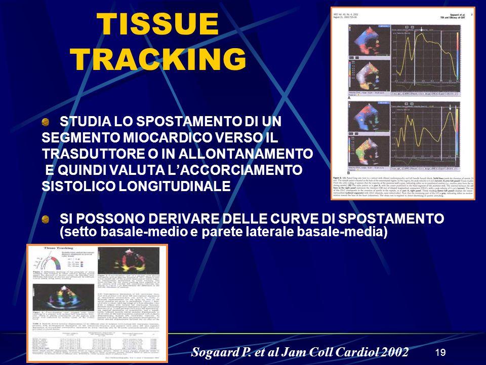 TISSUE TRACKING STUDIA LO SPOSTAMENTO DI UN
