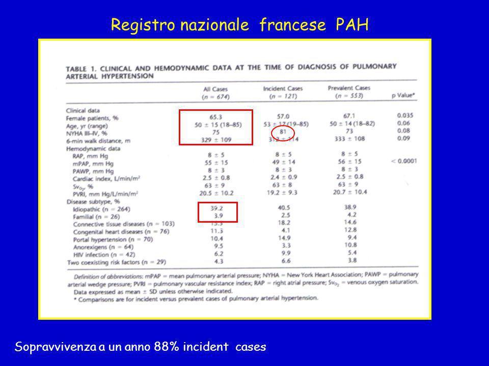 Registro nazionale francese PAH