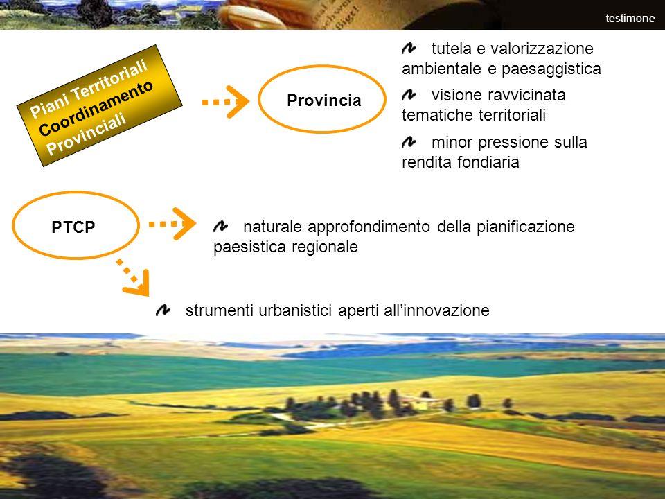 tutela e valorizzazione ambientale e paesaggistica