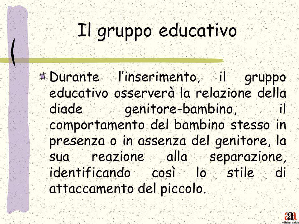 Il gruppo educativo