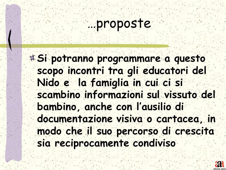 …proposte