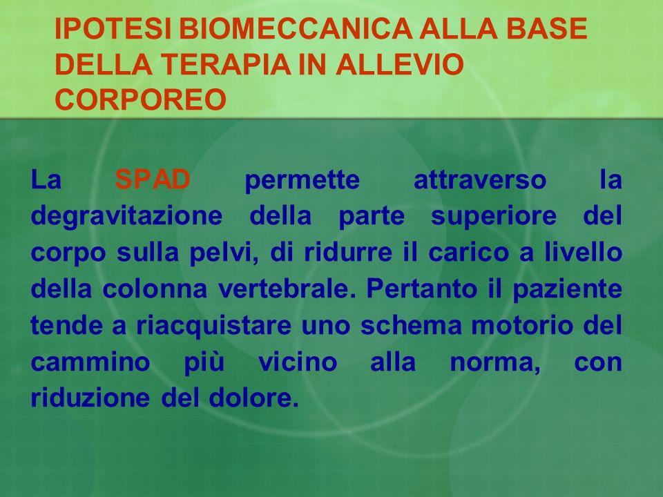 IPOTESI BIOMECCANICA ALLA BASE DELLA TERAPIA IN ALLEVIO CORPOREO