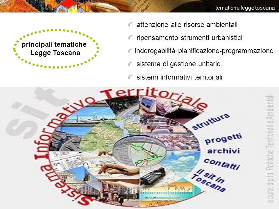 tematiche legge toscana