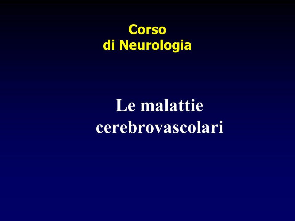 Le malattie cerebrovascolari