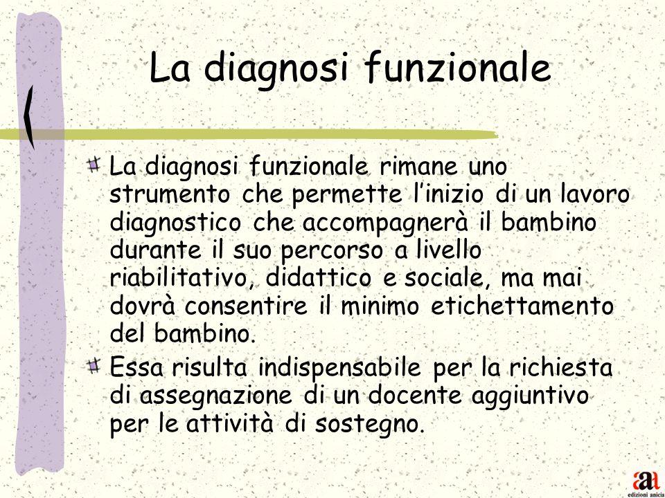 La diagnosi funzionale