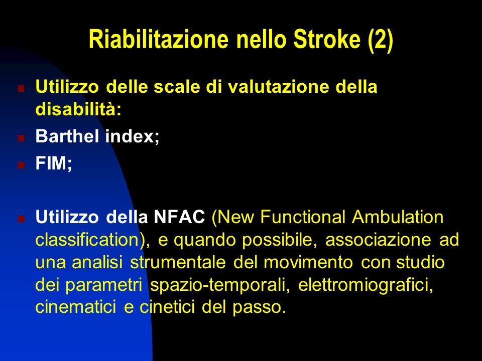 Riabilitazione nello Stroke (2)