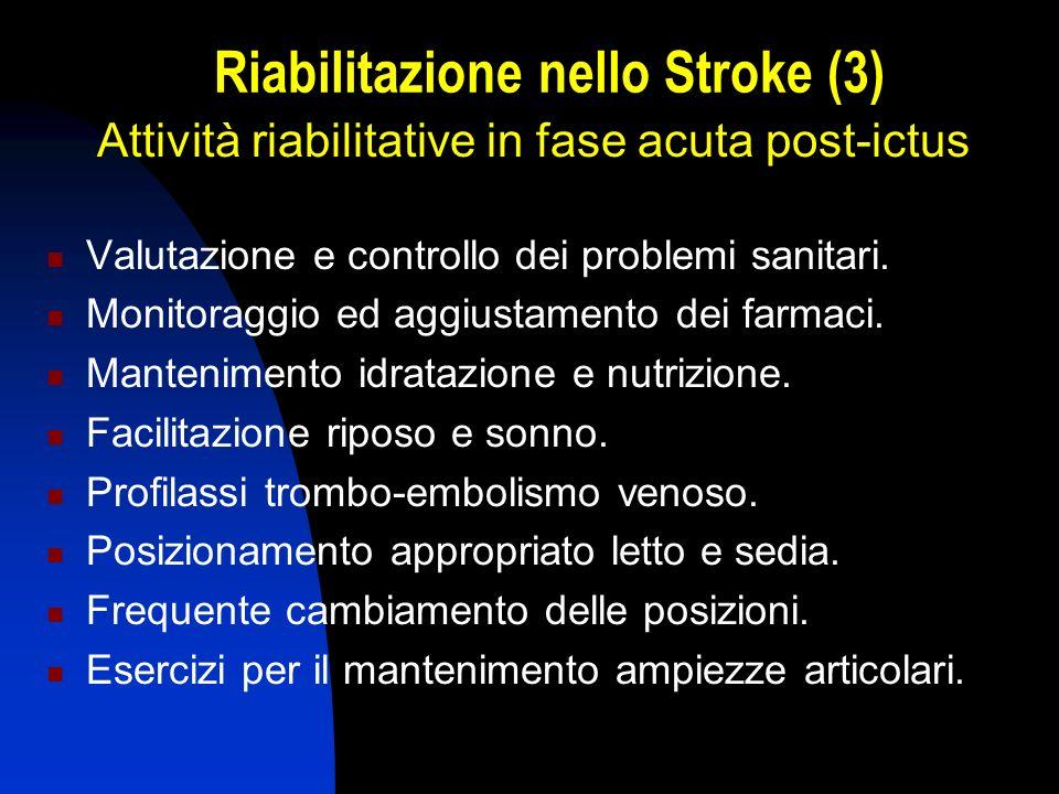 Riabilitazione nello Stroke (3)