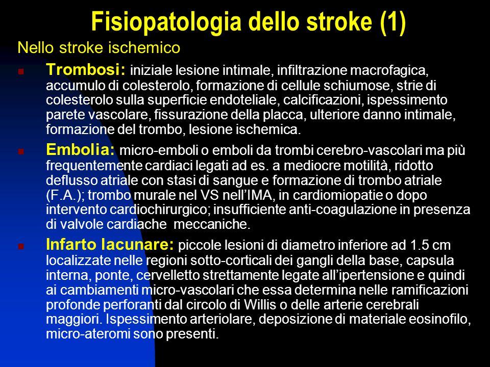 Fisiopatologia dello stroke (1)