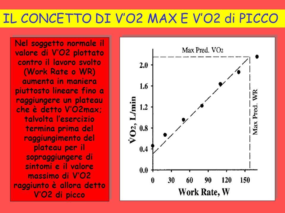 IL CONCETTO DI V'O2 MAX E V'O2 di PICCO