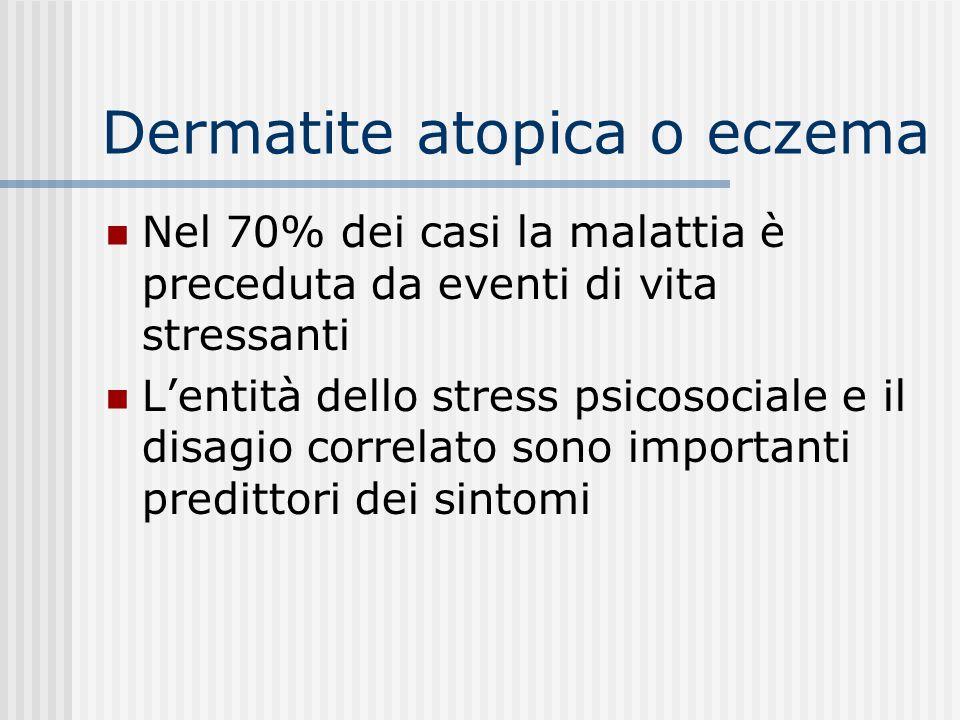 Dermatite atopica o eczema