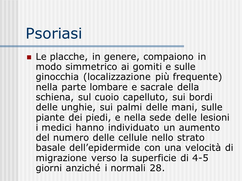 Psoriasi