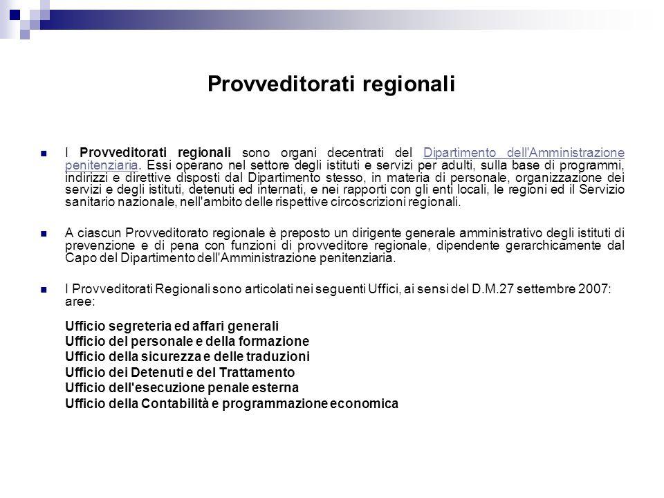 Provveditorati regionali