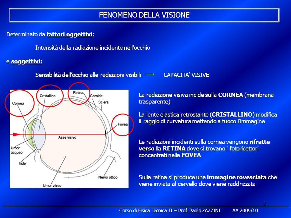 FENOMENO DELLA VISIONE