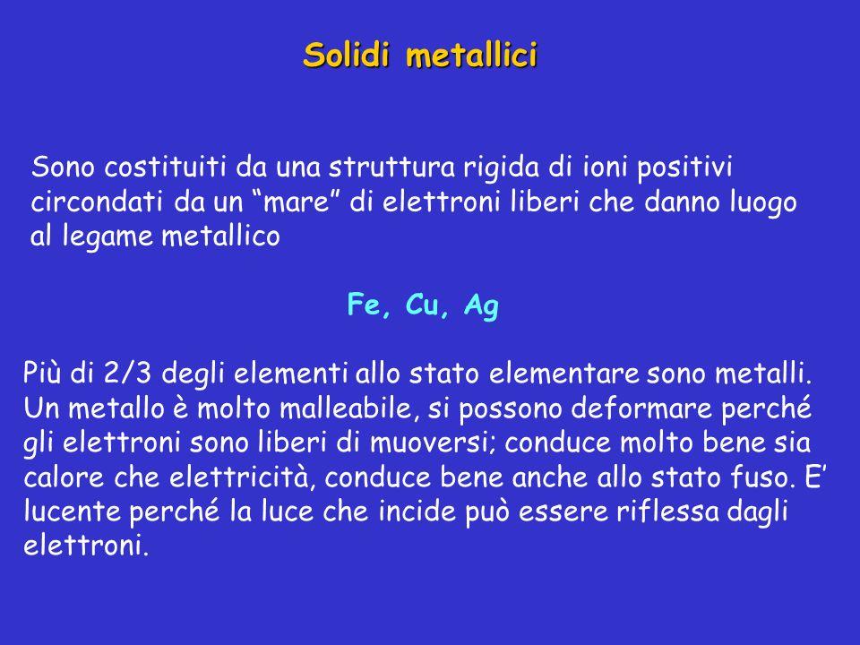 Solidi metallici