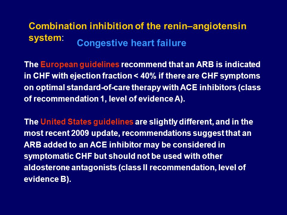 Combination inhibition of the renin–angiotensin system: