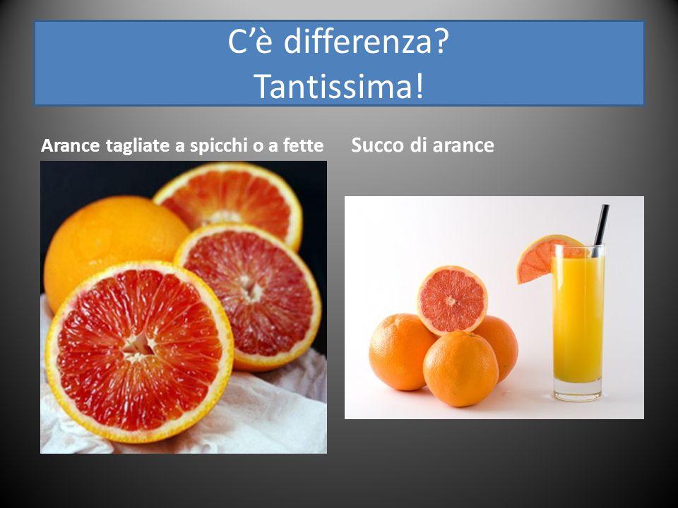 C'è differenza Tantissima!