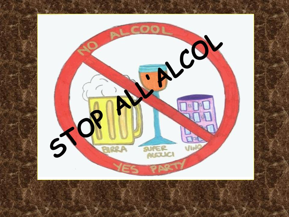 STOP ALL'ALCOL