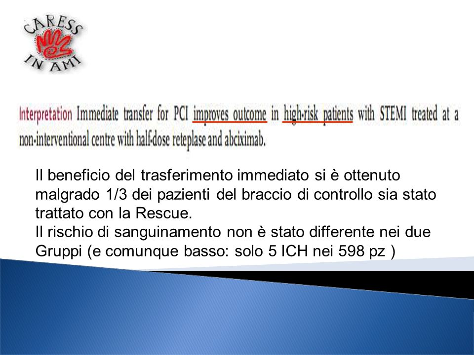 Il beneficio del trasferimento immediato si è ottenuto
