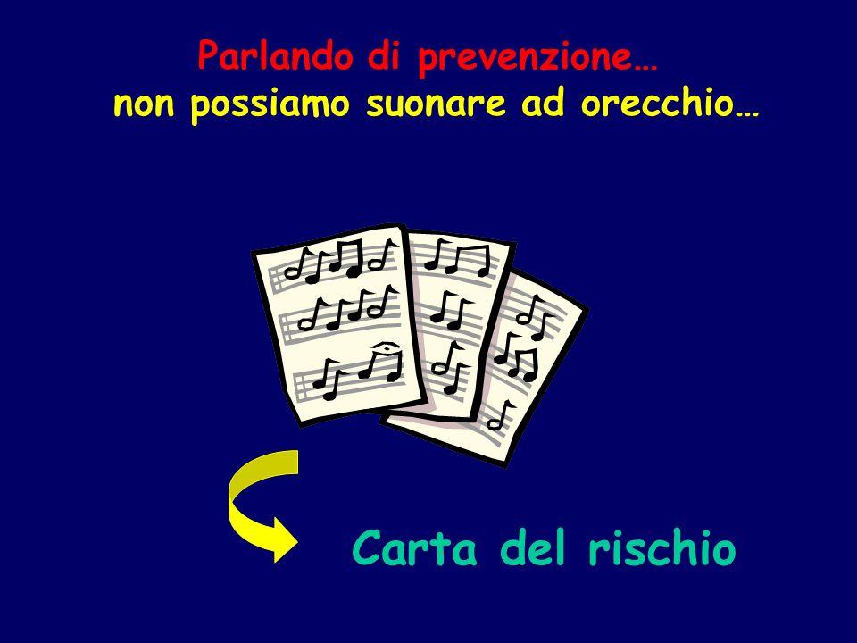 Parlando di prevenzione… non possiamo suonare ad orecchio…