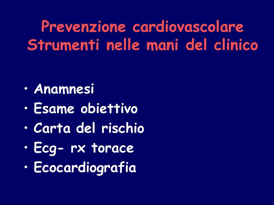 Prevenzione cardiovascolare Strumenti nelle mani del clinico
