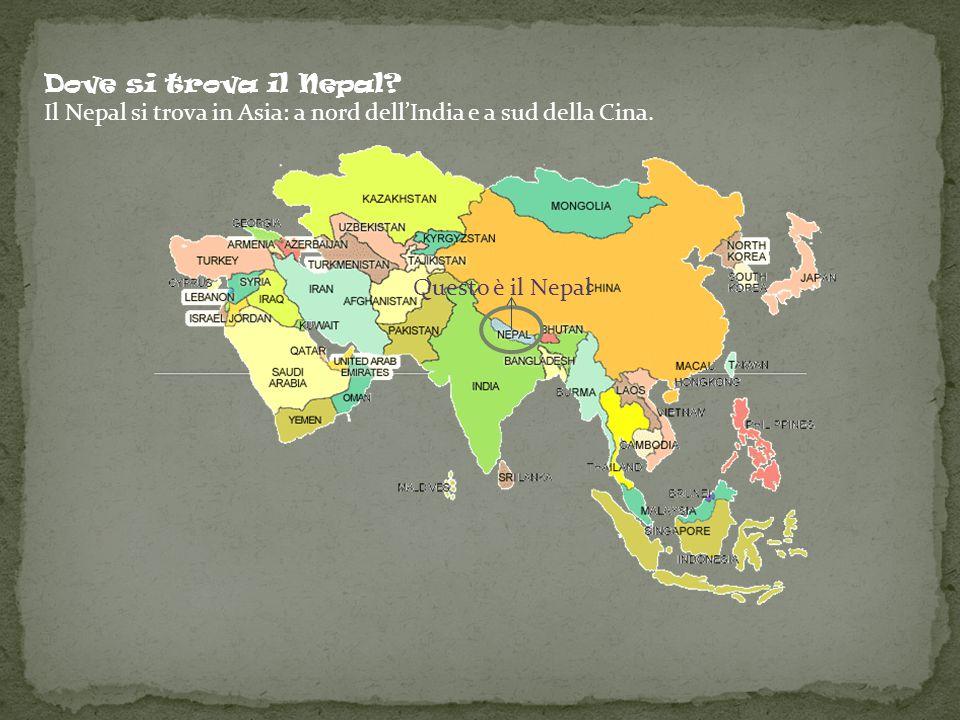 Il nepal si trova in asia a nord dell india e a sud della for Arredo ingross 3 dove si trova