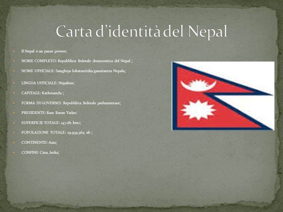 Carta d'identità del Nepal