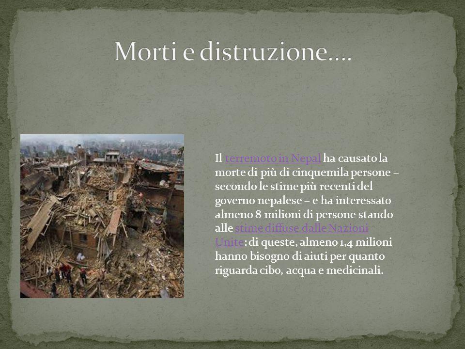 Morti e distruzione….