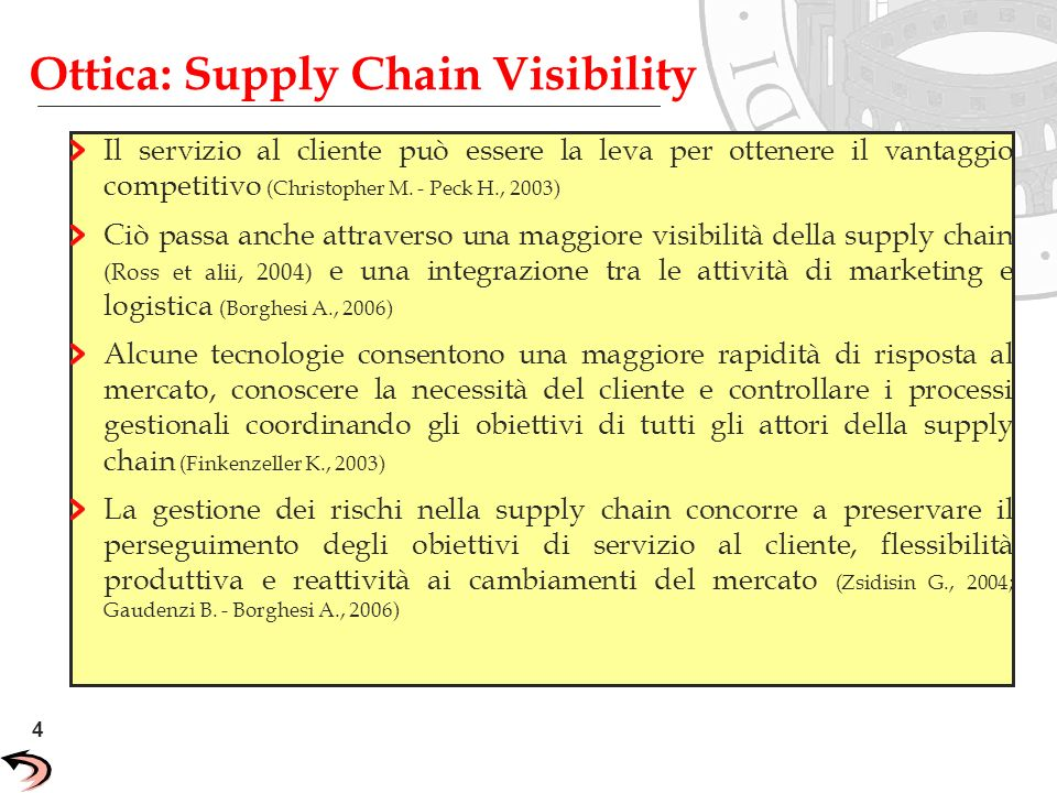 Ottica: Supply Chain Visibility