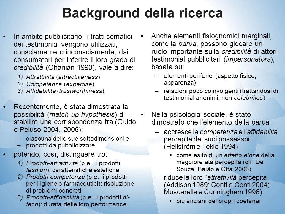Background della ricerca