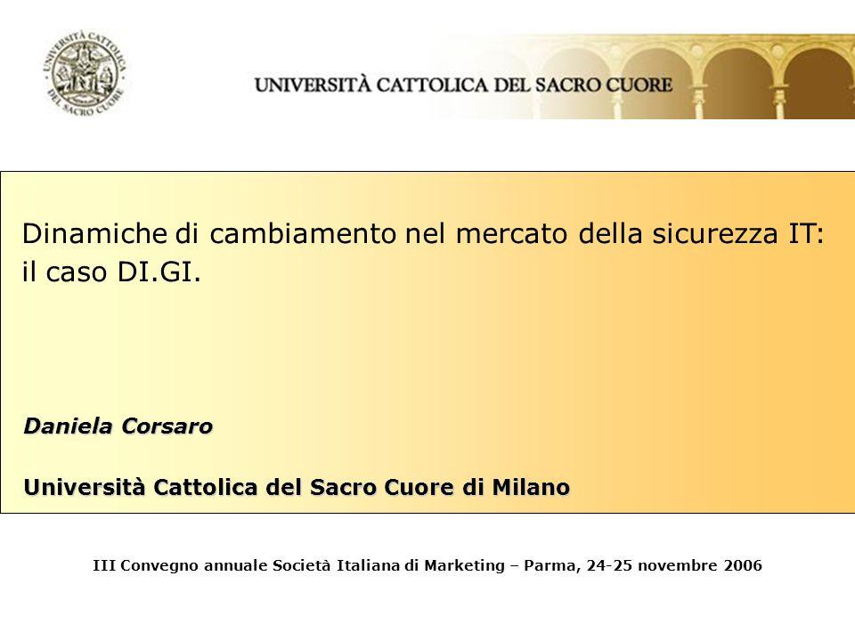 Daniela Corsaro Università Cattolica del Sacro Cuore di Milano