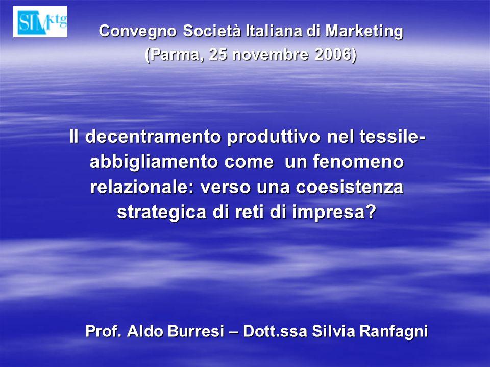Prof. Aldo Burresi – Dott.ssa Silvia Ranfagni
