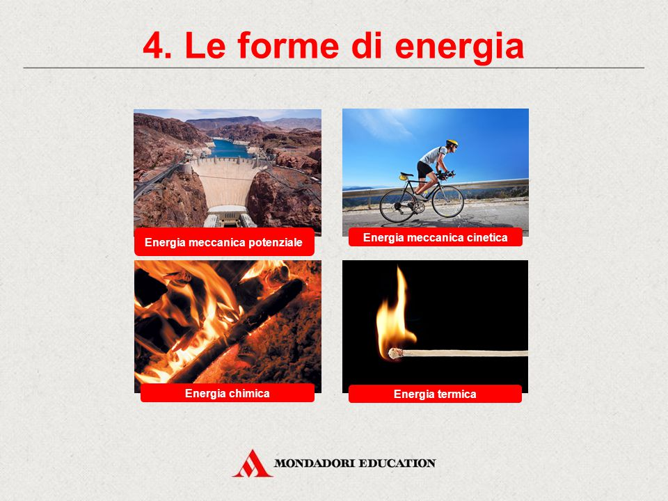 Energia meccanica potenziale Energia meccanica cinetica