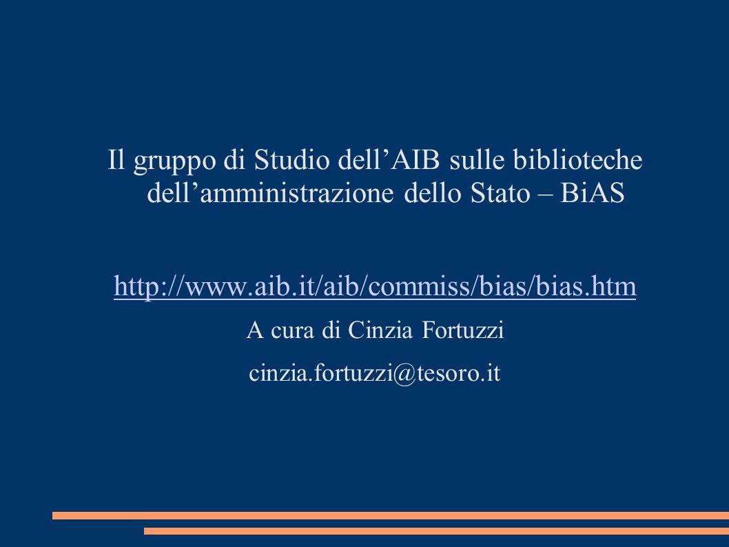 A cura di Cinzia Fortuzzi