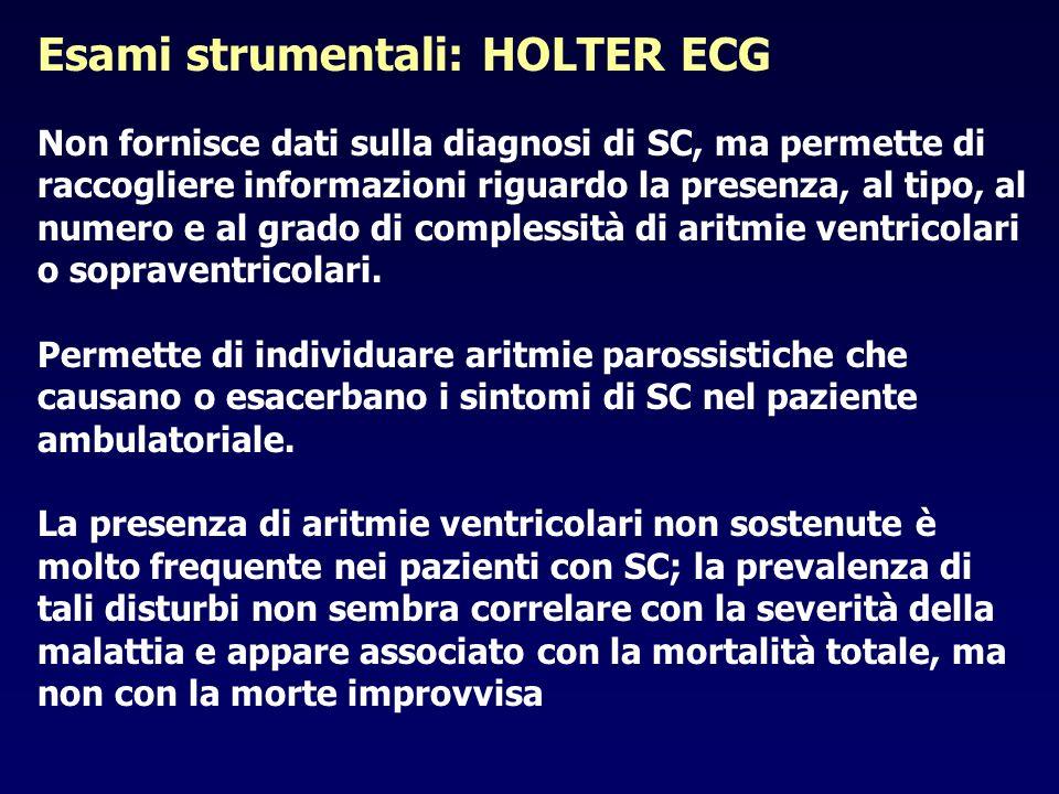 Esami strumentali: HOLTER ECG