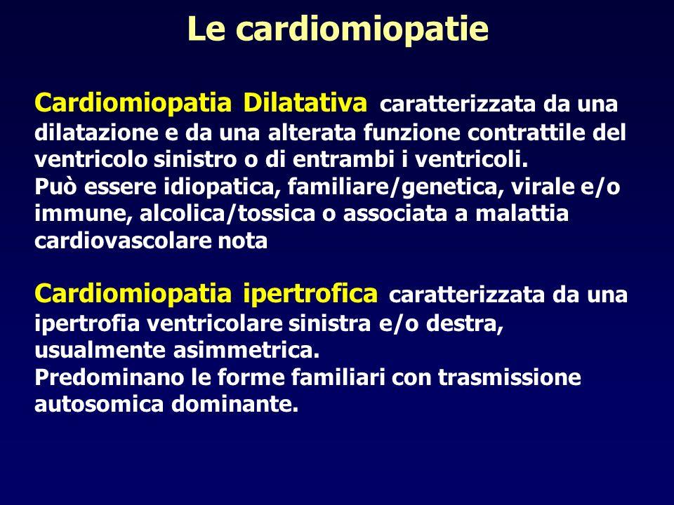 Le cardiomiopatie