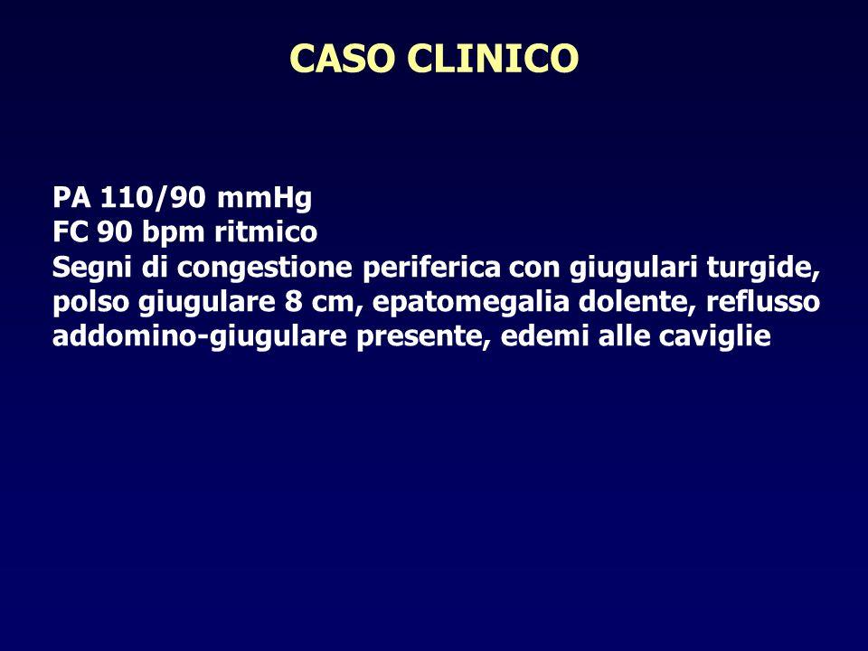 CASO CLINICO PA 110/90 mmHg FC 90 bpm ritmico