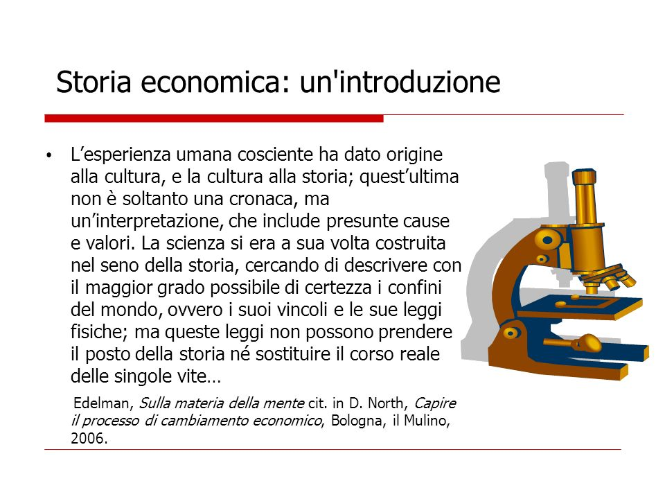 Storia economica: un introduzione