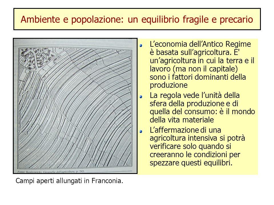 Ambiente e popolazione: un equilibrio fragile e precario